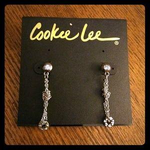 Cookie Lee Genuine Crystal Earrings